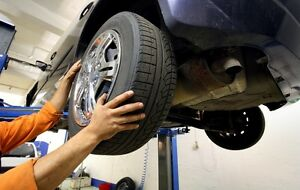 Tire rotation and Oil changes in Espanola