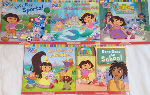Qty 6 Sets of 5 Dora Books Including Lift the Flap Retailing $9+ London Ontario image 2