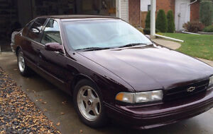 Exceptional LOW MILEAGE 1996 Chevrolet Impala SS - PRICE DROP!!
