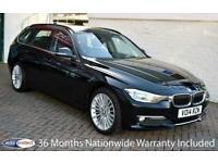 2014 14 BMW 3 SERIES 320D LUXURY TOURING 6-SPEED 181 BHP DIESEL