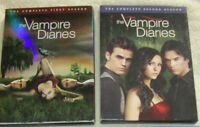 Vampire Diaries Season 1 & 2 on DVD
