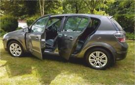 VAUXHALL ASTRA ELITE 2009 Reg 1.6 * 102,000 MILES MANUAL 5 Door Hatchback Grey