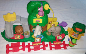 Fisher Price Little People Animal Sounds Zoo & Book London Ontario image 1