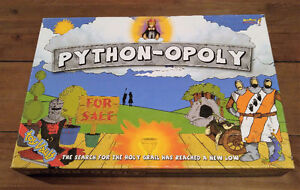 Monty Pythons Flying Circus - Boardgame + 2 DvD's & Book