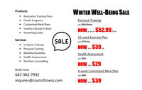 Winter Wellness Sale | Personal Training