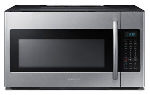 Samsung Stainless steel over the range Microwave with fan built