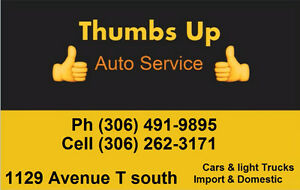 Thumbs Up Auto/Truck Mechanic Services