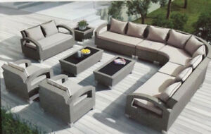 SALE: Highest QUALITY Wicker Rattan SOFA SET