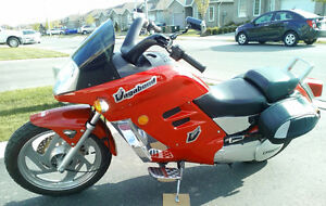 Ferrari Red CF Moto Vagabond Motorcycle $2500 Or Best Offer OBO