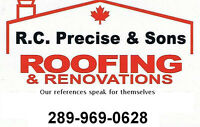 ROOFING, REPAIRS, EXTERIOR HOME MAINTENANCE
