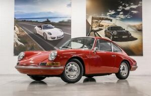 1965 Porsche 912 Coupe - Desirable Red on Black, Matching Number
