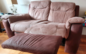 2 x two seater recliners
