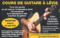 Cours de guitare à Lévis