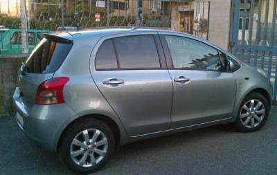 Painted 8R3 Pacific Blue For Toyota Yaris 2D 4D Hatchback OE-Style Roof Spoiler