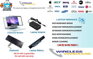 *Wireless Warehouse*Repair services for all laptops  & Apple Mac