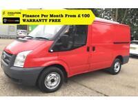 2007'57 Ford Transit 2.2 260S Low Roof Panel Van,1 OWNER, FSH,85K (280 300 SWB