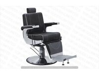 NEW HEAVY DUTY BLACK BARBER CHAIR BX-2901B,CASH ON COLLECTION ONLY