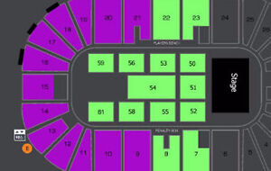 AMAZING I LOVE THE 90s 2ND ROW FLOOR CENTRE SECTION !!!!!
