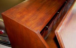 True Antique Mahogany Slant-front Desk Bureau Kingston Kingston Area image 6