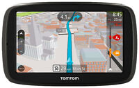 """TomTom GO 50 S 5"""" GPS with Lifetime Map and Traffic Updates."""