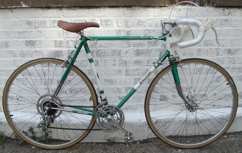 Vintage Raleigh Road Bikes 53