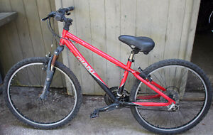 """Giant Boulder 2008 Bike XS 26"""" Wheels Red AS IS GODERICH"""