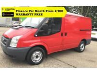 "2007 ""57"" Ford Transit 2.2 260S Low Roof Panel Van,1 Owner, FSH 77k 280 300SWB"