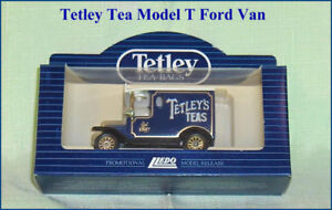 Tetley Tea Promotion Diecast Model T Ford Van with Box