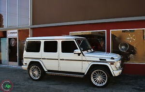 """22"""" Rims To Fit Mercedes (G-Wagon)"""