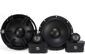 "Car audio 6.5"" MB Quart component speakers New! Subwoofers,amps."