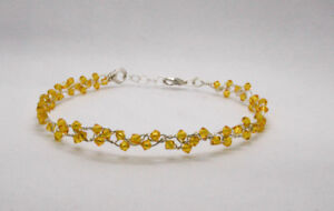 Yellow Swarovski Crystal Choker