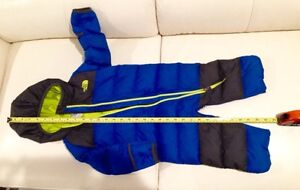 the North Face Snuggler Down infant snowsuit/ bunting, 6-12