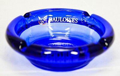 Gauloises Tabak Aschenbecher, kleine Ausführung, rund.