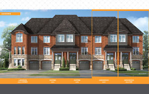 NEW BUILD FREE HOLD TOWN HOME IN PICKERING NEAR TO EVERYTHING