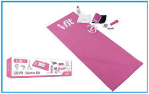 Nintendo Wii Fit  8 -in- 1  Accessory Starter Kit  - Pink  - NEW
