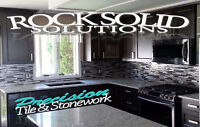 Rock Solid Solutions - Precision Tile, Stone & More~