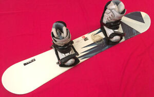 LADIES 8 - 9 SIMS BURTON SNOWBOARD SETUP SEE VIDEO