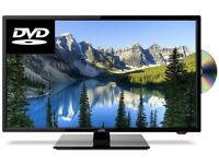 """Brand New Cello C24230F 24"""" LED TV HD Ready with Built-in DVD Player and Freeview"""