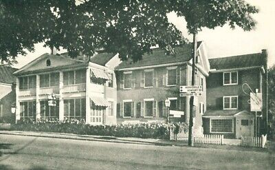 Green Mountain Inn and Motel Stowe VT Vermont Postcard
