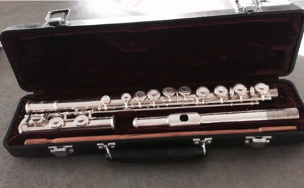 Flute silver plated  Hornsby Hornsby Area Preview