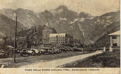 PIANO DELLA MUSSA CON I GHIACCIAI TORINO VIAGGIATA 1928