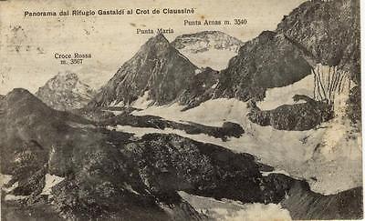 PANORAMA DAL RIFUGIO GASTALDI AL CROT DE CIAUSSINE 1929