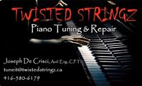 Twisted Stringz Piano Tuning & Repair