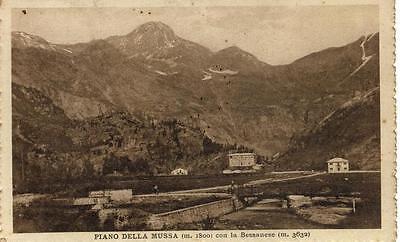 PIANO DELLA MUSSA CON LA BESSANESE TORINO VIAGGIAT 1928