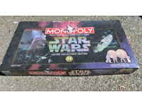 Star Wars Monopoly Limited Collectors Edition from 90's