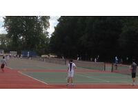 Mix &Match Social Tennis Sat 20 May 2pm