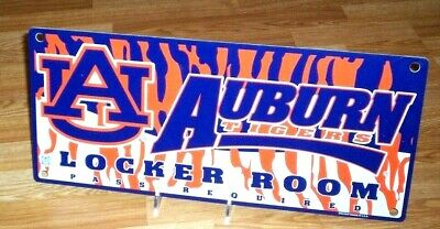 Auburn Tigers NCAA Locker Room Sign *Free Shipping