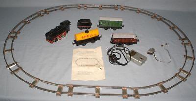 Antike Spielzeug Eisenbahn KEIM Trafobahn Starterset elektrisch zum Reparieren