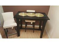 IKEA Stornas bar table + 2x Henriksdal bar stools £150 ono