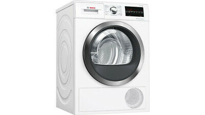 Graded Bosch WTW85471GBB 60cm 8kg Tumble Dryer with Heat Pump (B-1833) RRP £799